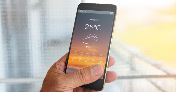 With Weather Widget Apps, You'll Know When it's Rain or Shine