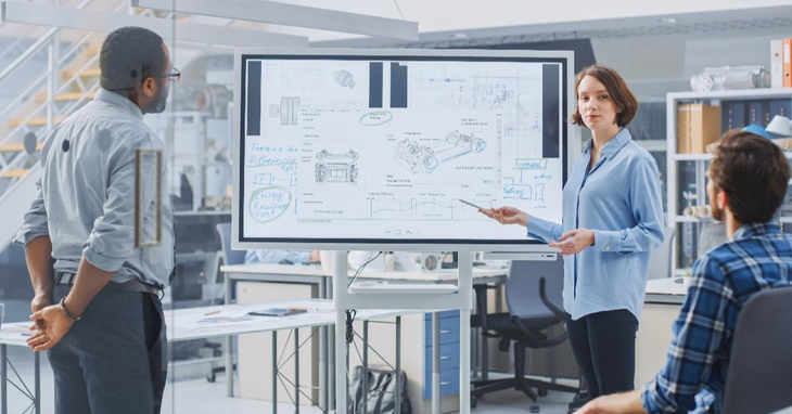 Digital Collaboration: How Whiteboards Can Facilitate Workplace Collaboration